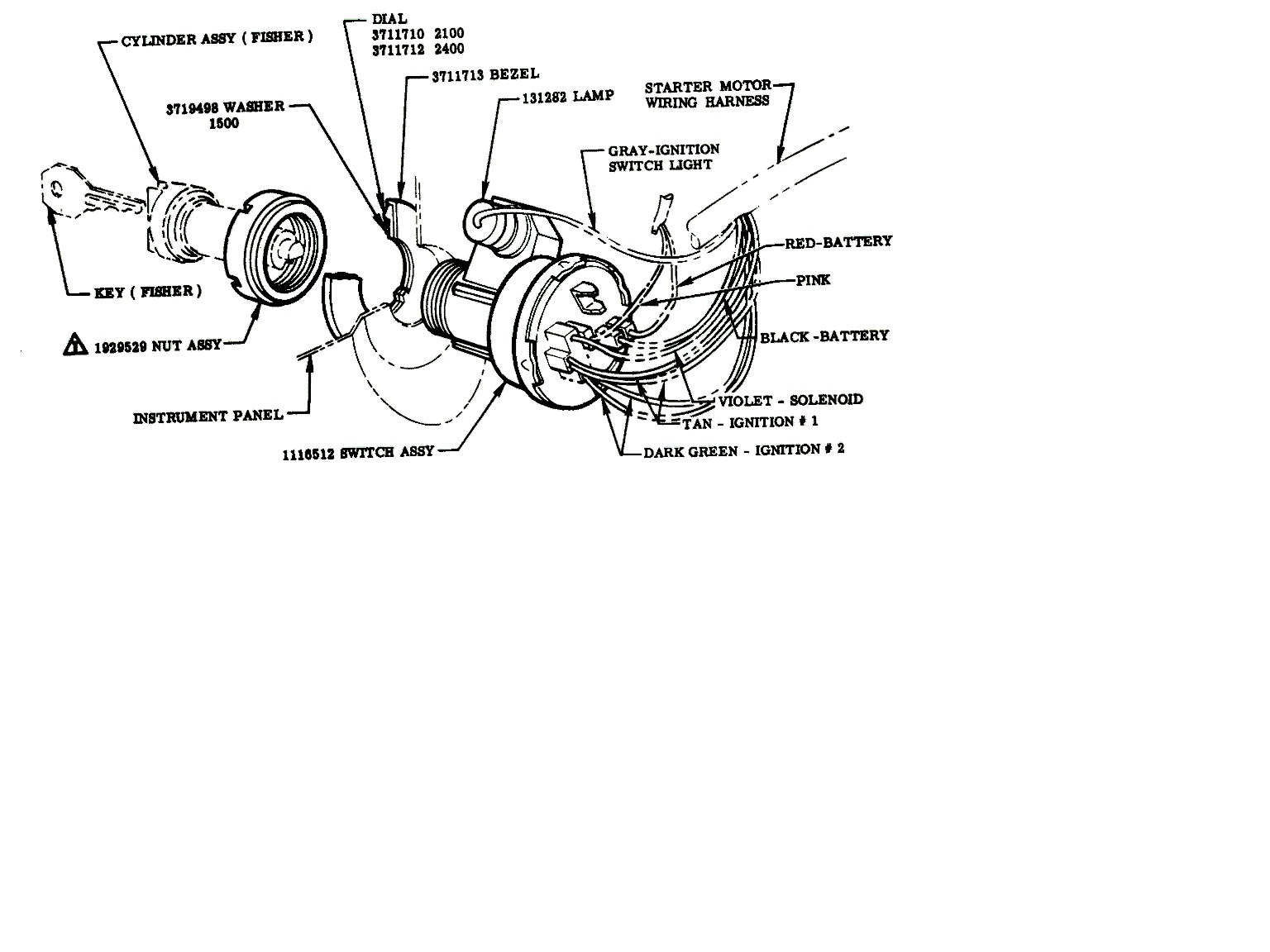 Chevy Ignition Switch Wiring Diagram from jalopyjournal.com